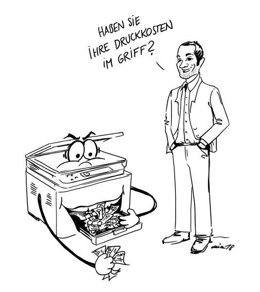 Druckkosten - Quickcheck Comic