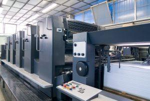 Foto: Offsetdruckmaschine